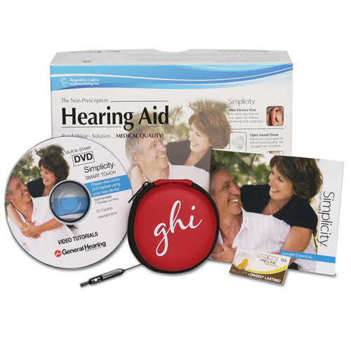 Non-Prescription Hearing Aids, ReadyWear Owner's Manual Photo - General Hearing Instruments, Inc.